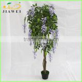 wholesale deocrative artificial wisteria trees natrual wood trunk