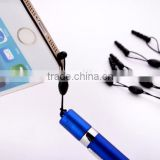 Top Popular Promotional Extend Bullet Capacitive Touch Screen Stylus Pen, High Quality Stylus Touch Pen With Dust Plug