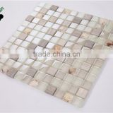 MB SMS13 Simple Home Decor Design Resin Glass Mix Stone Mosaic Bathroom Tile Crystal Mosaic Backsplash Tile