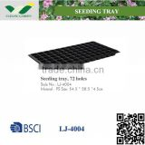 Plastic gardening / seeding / grow bag tray LJ-4004