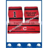 Factory OEM cotton terry basketball sweatband set headband and wristband