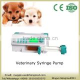 CE ISO FDA approved Portable Veterinary Syringe Pump vet for KVO with injection pump animal use in clinic hospital