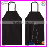 E097 Men's Standard Restaurant Bib Black Apron Disposable Bib for Restaurant
