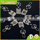 Wholesale Cheap Car Logo Keychain/ car logo keychain/BMW car logo keychains