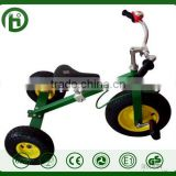 All Terrain Tires Adjustable Seat Tilting Handlebars metal Childs Tricycle little three wheel kid toy bike child tricycle