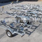 Alko Torsion Axle Galvanized boat trailer