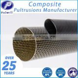 Corrosion-resistant composite carbon fiber tube fittings