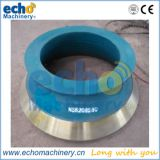 steel alloy Metso cone crusher spare parts concave and mantle for crushing stones,gravels