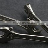Wide Mouth Tube Live Nickel plated Spanner Wrench Adjustable Spanner Nut Wrench Pipe Wrench