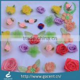 Popular fashion colorful ribbon bow for hair accessories