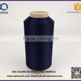 Dyed polyester textured yarn 50D for label