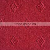Non-woven velour jacquard exhibition carpet for living room or stair