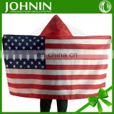 OEM designs direct supply by factory polyester flag styles cape