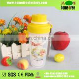 300ML S Kids Screw Cap Custom Shape Plastic Cup Carrier/Plastic Cup Food Grade For School Use