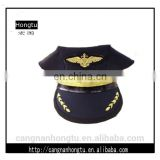 High Quality custom military caps with metal badge