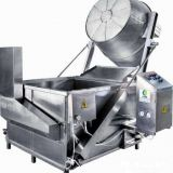 Broad Beans , Chin Chin Chips Deep Fryer Machine 36kw