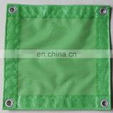 270GSM flame retardant PVC mesh sheet, high tensile safety net