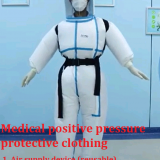 Medical positive pressure protective clothing