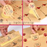 kraft paper stickers self adhesive stickers fot all kins of food,packaging bags,kraft paper label tags,stickers