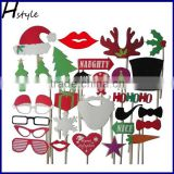 Wedding Christmas Hat Mustache Antlers Within Interesting Photo Booth Props PFB0047