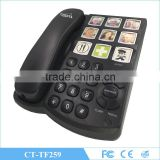 big key secretaria emergency telephone set speaker big button telephone