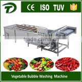 leafy vegetable high pressure bubble washing machine                                                                         Quality Choice