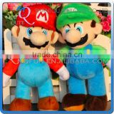 Mini Qute 42 cm Anime Game Cartoon Super mario stuffed plush dolls kids collection educational toys NO.MQ 042