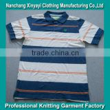 Factory direct selling made in china polo shirt with garment stock lot cotton fabric