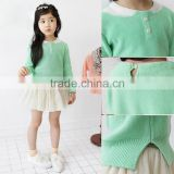 2015 New arrival korean autumn kid clothing sweater designs for girls kid girl clothes cute girl sweater