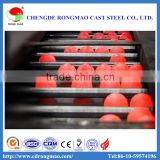Large size 150mm Grinding Steel Ball forged steel balls for mining Rolled Grinding Balls