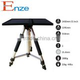 55 inch heavy duty Traveller Camera Camcorder Tripod with Carry Case for android 4.0 apple projector screen stand