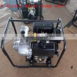 "4""recoil start diesel aluminum water pump for irrigation and farming use"