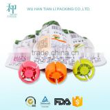BPA free high quality fruit juice/puree spout pouch baby food packaging                                                                         Quality Choice
