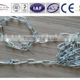 High Quality Chain Leads Dog Leash double loop chain Manufacture Competitive price