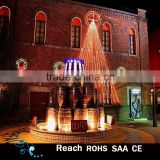 Outdoor Lights 2D Silhouettes christmas tree rope motif light decorations building wall decor with led lights christmas Wreath