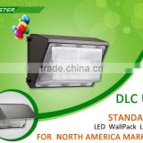hot new products for 2015 DLC UL CUL listed 347V LED Wallpack