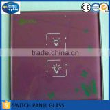 86*86mm stained art fused glass switch plates for sale