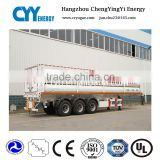 Used co2 lng cng tube transport truck trailer , lpg gas road tanker trailer for sale