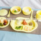 Baby product Dish 8pcs_Eco-Friendly Baby Tableware Set 8pcs made from cornstarch