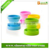 Wholesale Collapsible Silicone Cup for Camping