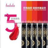 Balala 5 colors lip pencil long lasting water-proof matte lipstick pen gorgeous lip stick