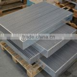 big aluminum plate and bar radiator core