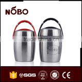 polishing stainless steel bulk food storage container