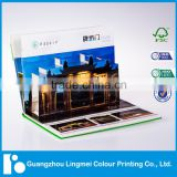 Full Color Custom Pop-up Board Book Printing in China