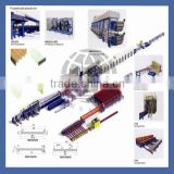 High quality chinese Color Steel PU Sandwich Panel Production Line