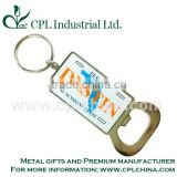 Bottle opener with keychains