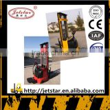 4.5m Height Efficent battery hydraulic stacker forklift