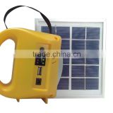 A large number of Middle East exports solar LED home lighting DC solar lights solar cell phone charging light