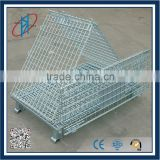 Industrail Stackable Storage Metal Foldable Cage Pallets                                                                         Quality Choice