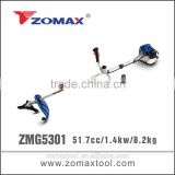 nylon trimmers 52cc ZMG5301 t200 brush cutter carburetor with gasoline engine
